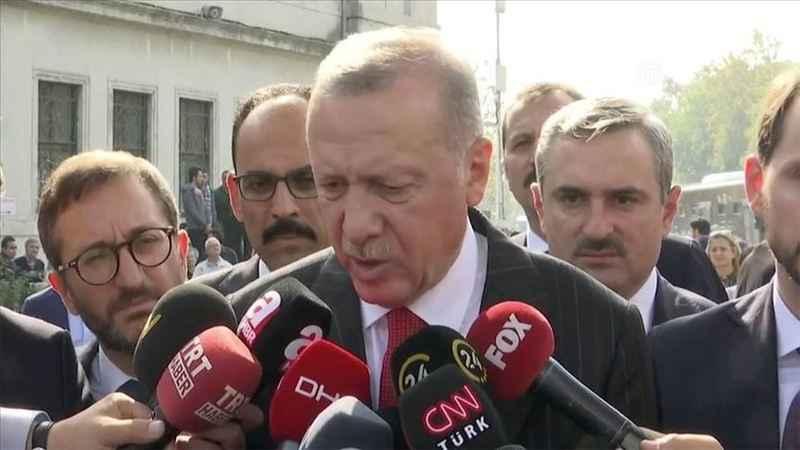 ABD ile varılan anlaşma sonrası Cumhurbaşkanı Erdoğan'dan açıklama