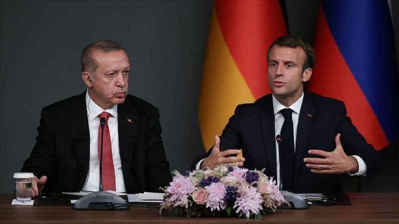 Macron'dan Erdoğan'la görüşme açıklaması