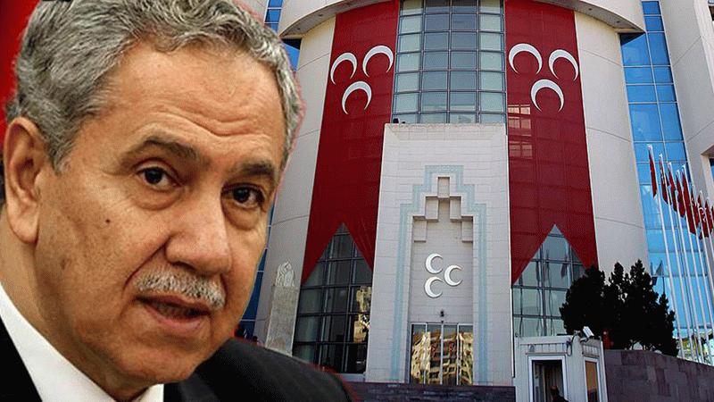 MHP'den Beştepe'ye 'damat' tepkisi: Bay Arınç'ın damadı...