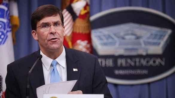 ABD Savunma Bakanı Esper açıkladı! Suriye'deki ABD askeri ne olacak?