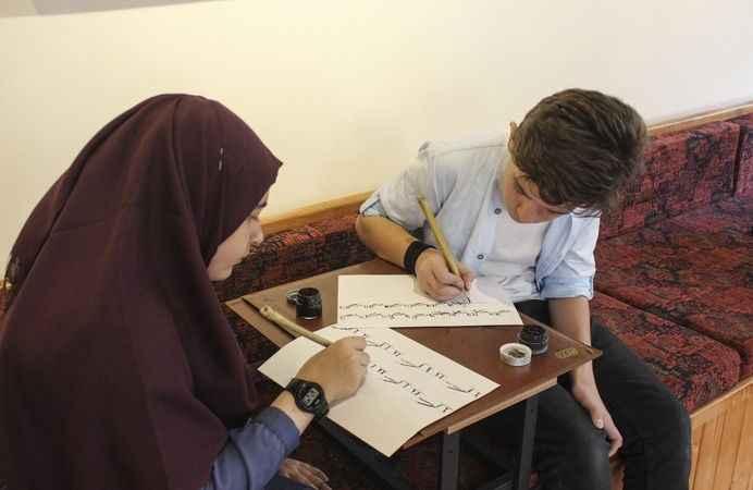 Türk İslam sanat dalları kurslarda yaşatılacak