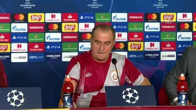 Fatih Terim Real Madrid maçı için basın toplantısı düzenledi