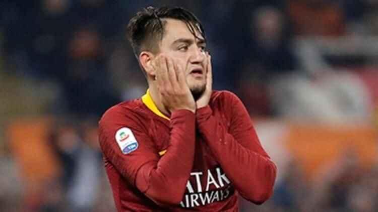 Roma'dan Cengiz Ünder için sakatlık açıklaması!