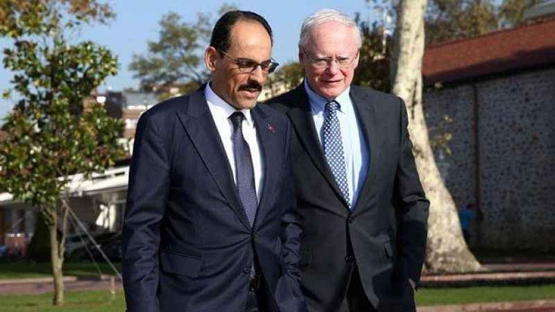 İbrahim Kalın ile James Jeffrey, Suriye ve ABD ziyaretini konuştu