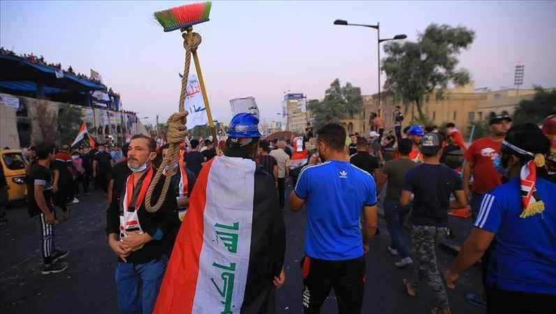 Irak'taki gösterilerde bir günde 6 kişi öldü