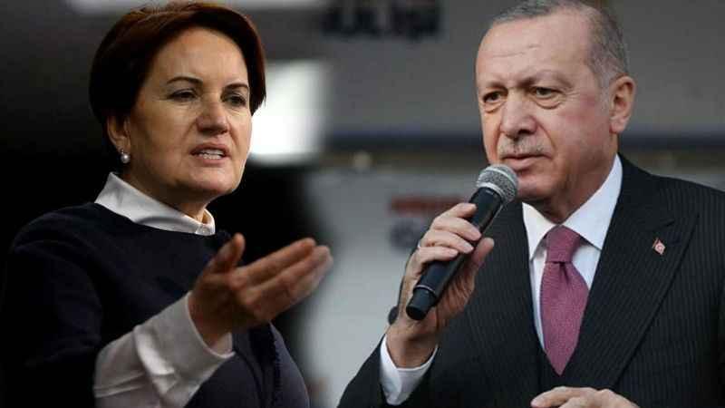 Akşener'den Erdoğan'a sert tepki: Hay hay muhtrem, kalk o sandalyeden