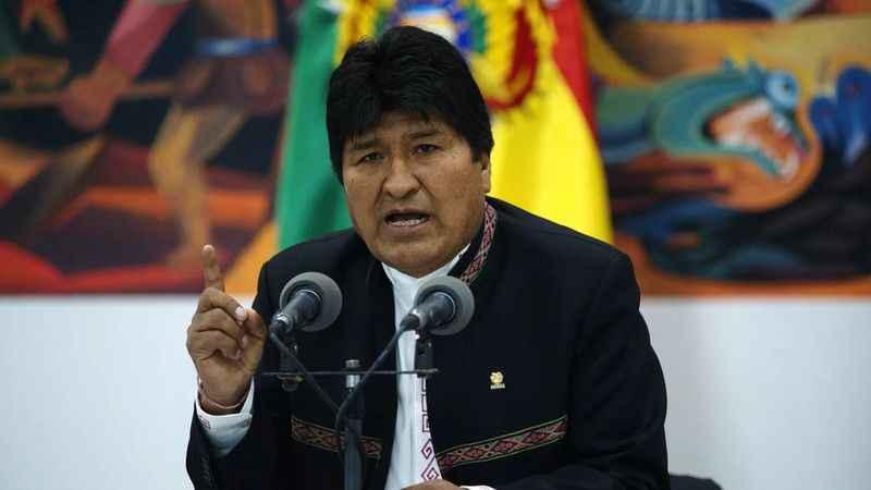 Bolivya geçici hükümetinden Morales'e soruşturma