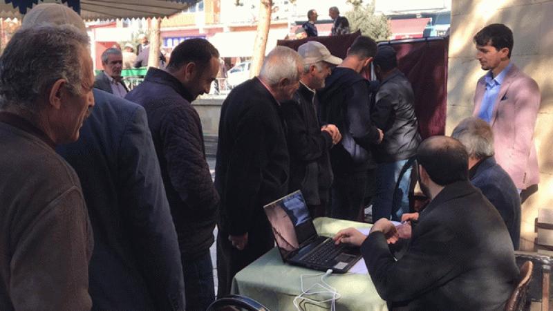Bayburt'ta cami için halk oylaması yapıldı