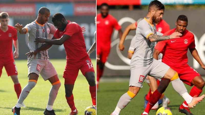 Galatasaray Ümraniyespor'u 4'ledi