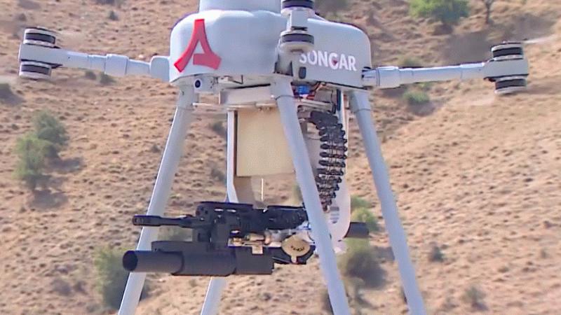 İlk milli silahlı drone Songar göreve başlıyor