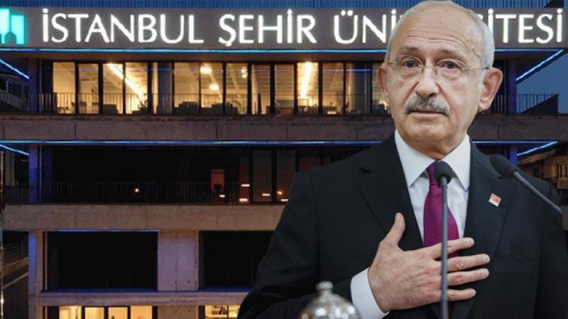 Kılıçdaroğlu'ndan Şehir Üniversitesi tepkisi Yapmayın, yazık günah