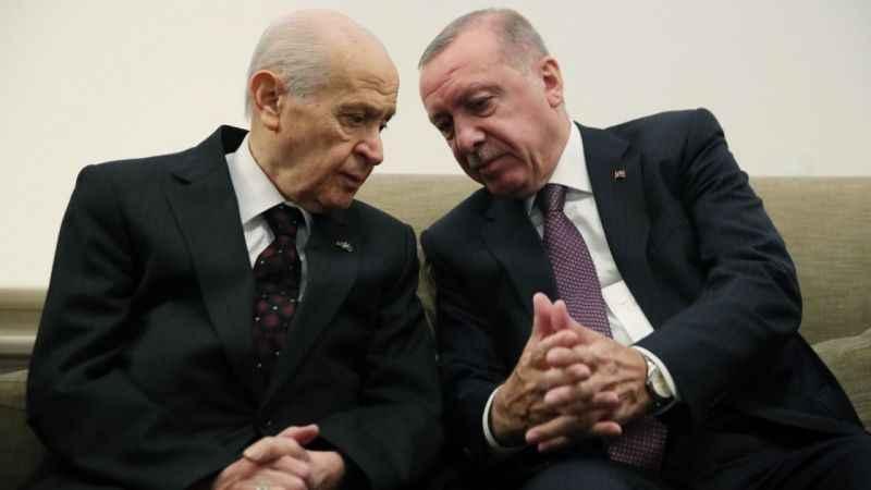 Erdoğan ve Bahçeli görüşmesinde 8 kritik başlık konuşuldu