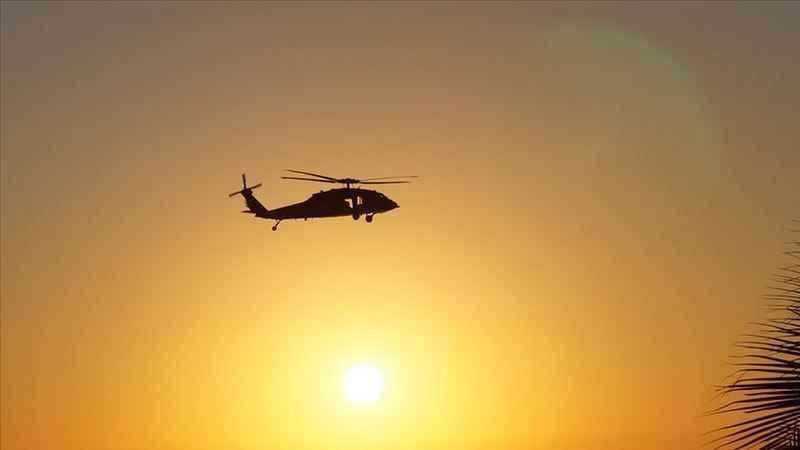 Afganistan'da işgalci ABD'ye ait askeri helikopter düştü: 2 ölü