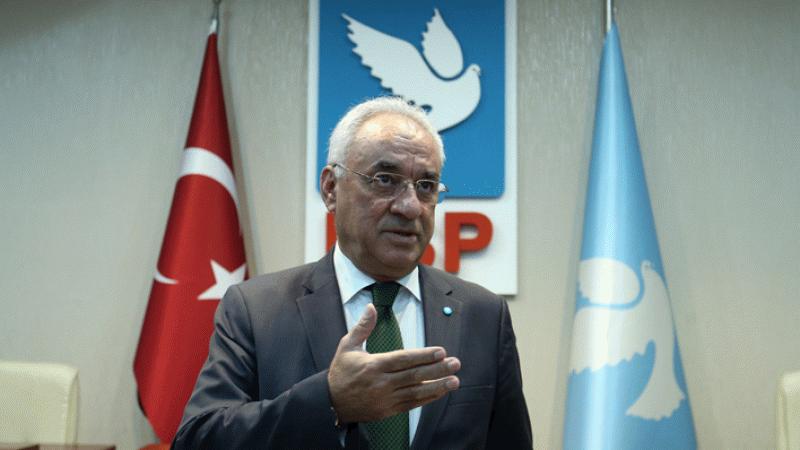 DSP Genel Başkanı Önder Aksakal: HDP'ye 47 trilyon para verecekler
