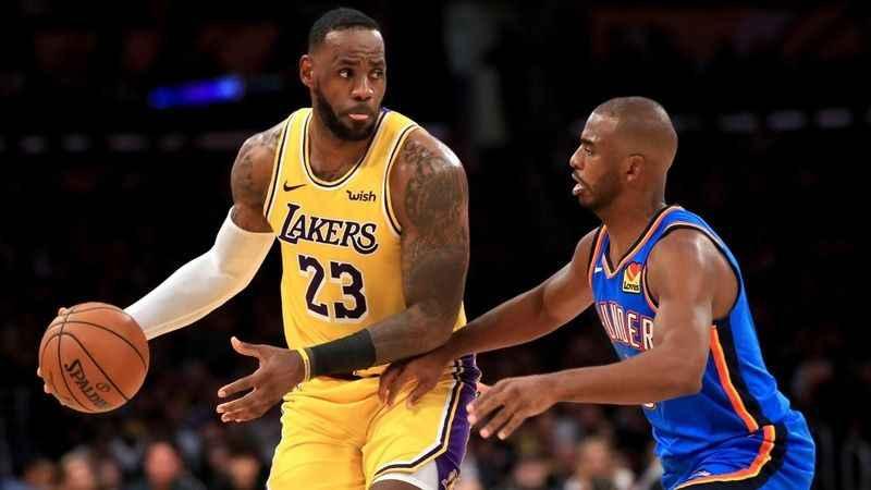 LeBron James triple double rekoru kırdı