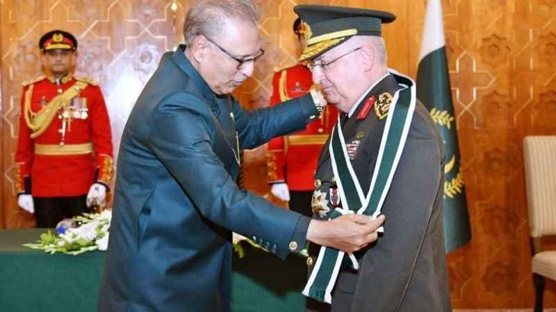 Genelkurmay Başkanı Güler'e Pakistan'da İmtiyaz Nişanı verildi