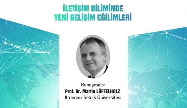 İletişimin duayenlerinden Löffelholz İstanbul Ticaret Üniversitesi'nde