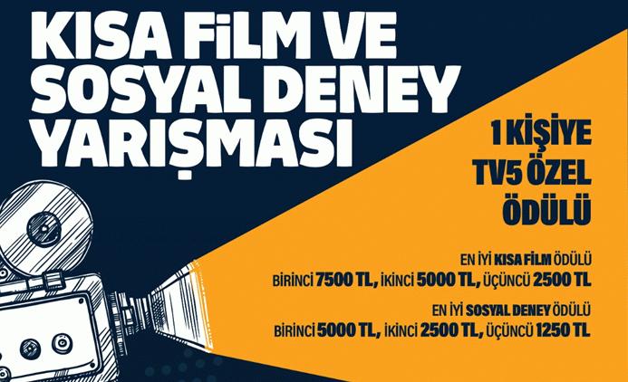 TV5'ten kısa film ve sosyal deney yarışması