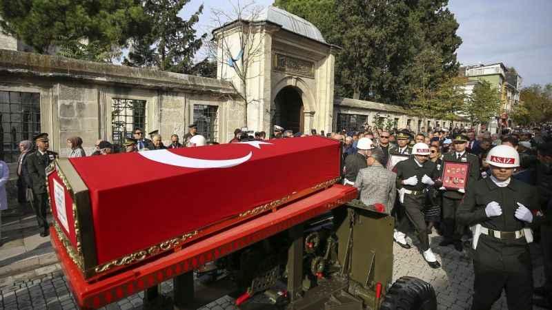 Yaşar Büyükanıt, Karacaahmet Mezarlığında defnedildi