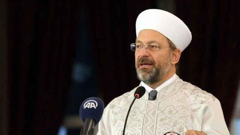 Erbaş: Kadına şiddetin İslam'da dayanak bulması mümkün değil