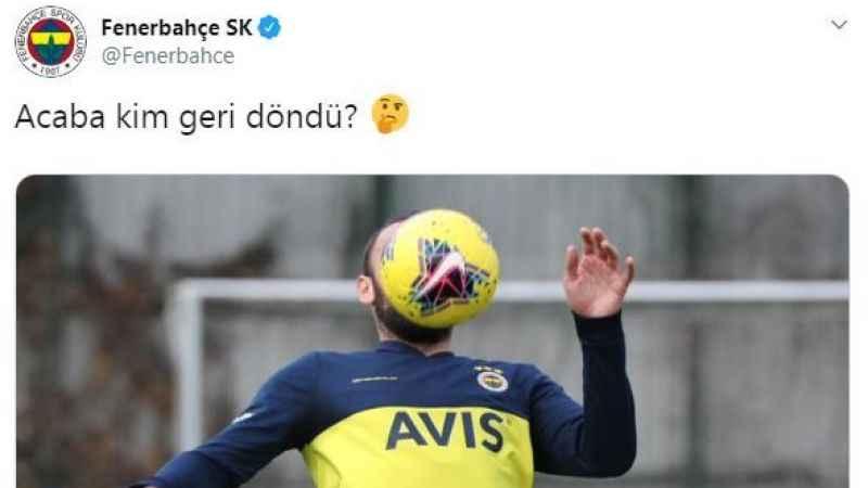 Fenerbahçe'den heyecanlandıran tweet: Acaba kim geri döndü?