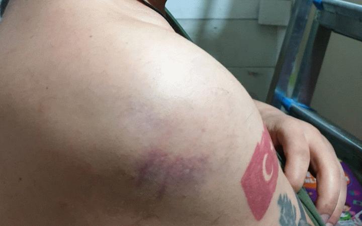 Yerel gazete sahibi dövüldü