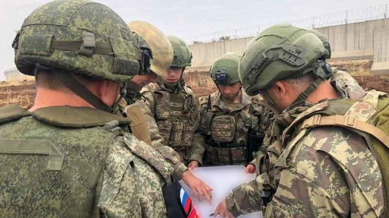 Türk ve Rus askeri unsurlarının 12. kara devriyesi tamamlandı