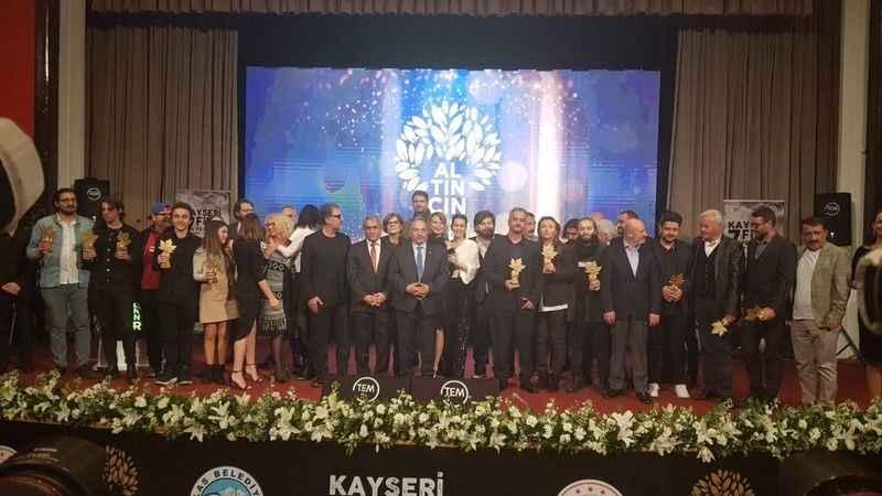 Seyid Çolak, Kayseri Film Festivalinden de eli boş dönmedi