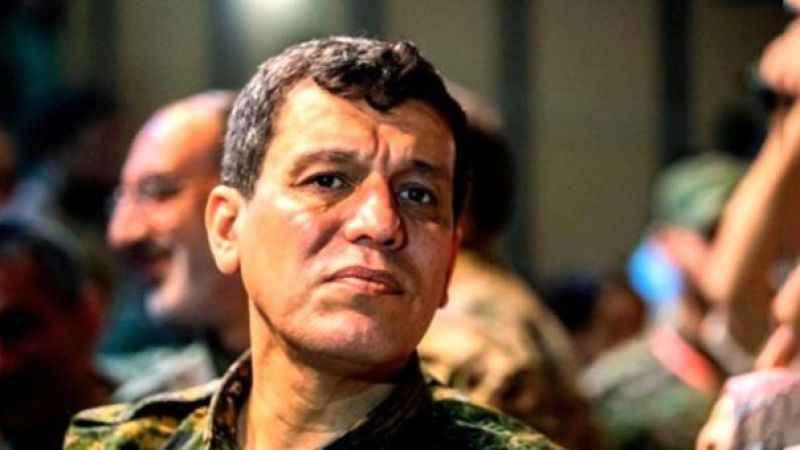 YPG elebaşı Mazlum Kobani Rus komutanla görüştü