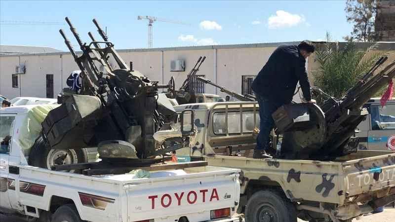 Trablus'ta Başkanlık Konseyi Merkezi'ne silahlı saldırı