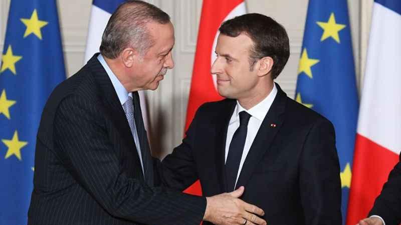 Cumhurbaşkanı Erdoğan'dan Macron'a tepki: Karşımızda susuyor