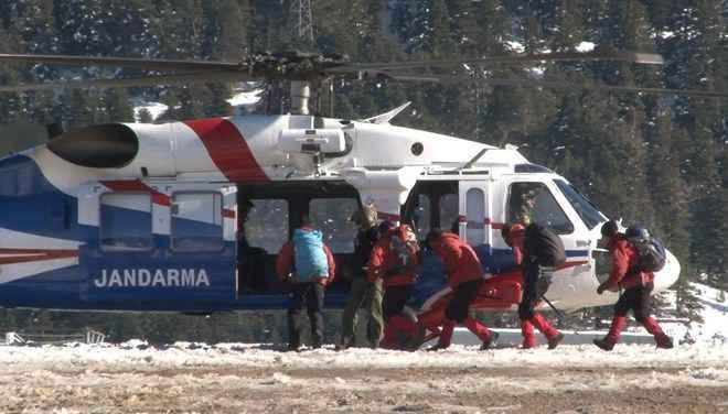 Uludağ'da kayıp dağcıları aramada 9'uncu gün: Baton bulundu