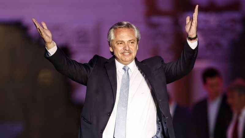 Arjantin'de Alberto Fernandez görevi devraldı