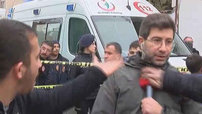 Konya'da muhabire saldıran üç kişi serbest bırakıldı
