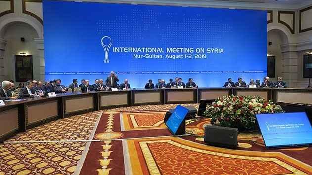 Suriye konulu 14'üncü Astana görüşmeleri başladı