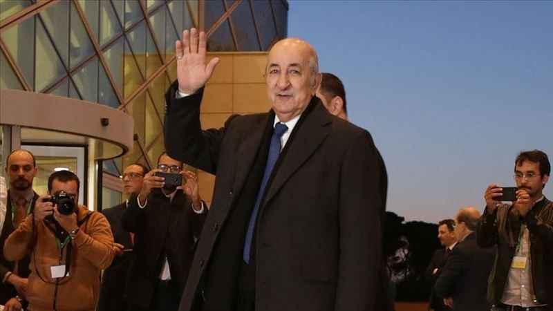 Cezayir'in yeni Cumhurbaşkanı Abdulmecid Tebbun oldu
