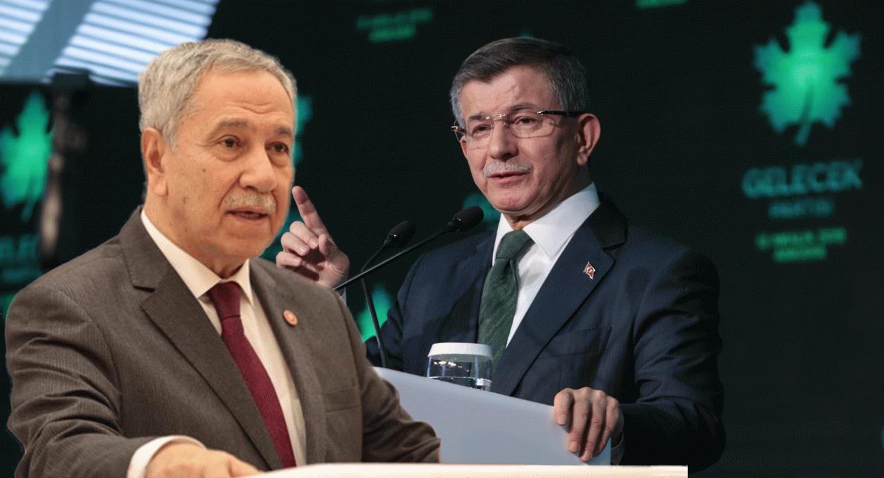 Bülent Arınç: Davutoğlu'nun Ak Parti'ye rakip olması uygun değil - Siyaset haberleri
