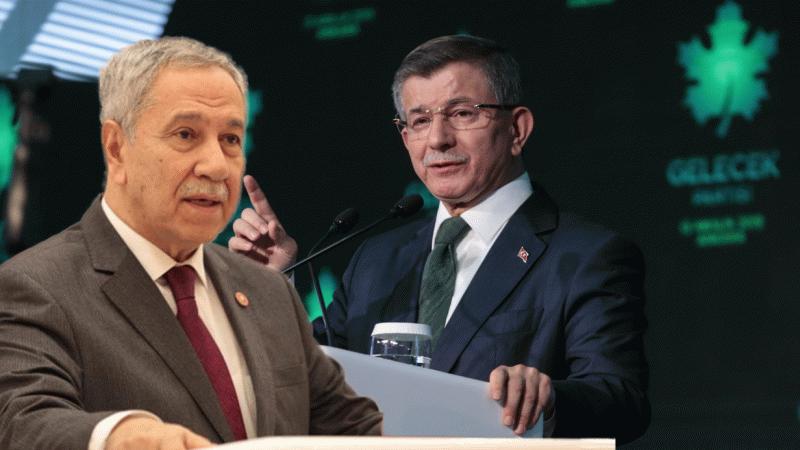 Bülent Arınç: Davutoğlu'nun Ak Parti'ye rakip olması uygun değil