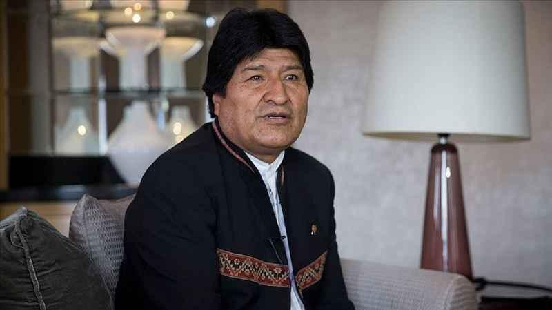 Morales hakkında tutuklama kararı
