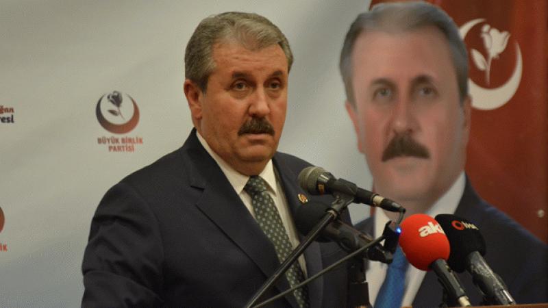 Mustafa Destici: Biz Çin'e mahkum değiliz, Çin bize mahkumdur