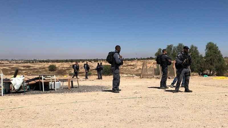 İşgalci İsrail güçleri El-Arakib köyünü 169'uncu kez yıktı