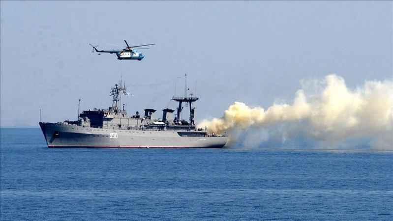 Rusya ve Esed rejimi Doğu Akdeniz'de ortak askeri tatbikata başladı