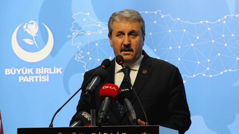 Mustafa Destici: Türkiye'nin bütçesinin büyük kısmı faize ayrılıyor