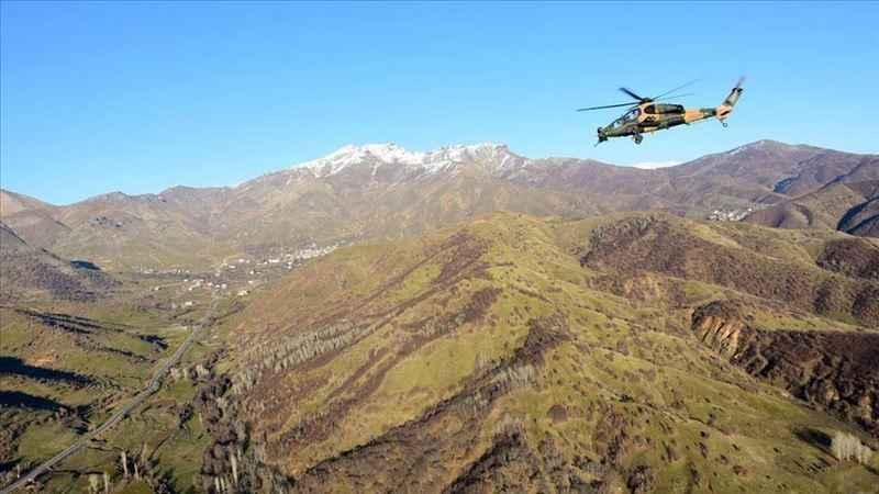 'Dağlara sıkışmış 3-5 terörist kaldı'