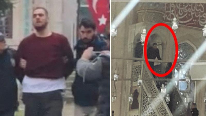 Selimiye'de minbere çıktı, 'Bu cami bana ait' dedi