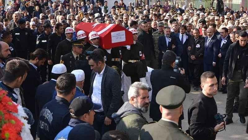 Şehit Piyade Uzman Çavuş Muharrem Karaduman son yolculuğuna uğurlandı