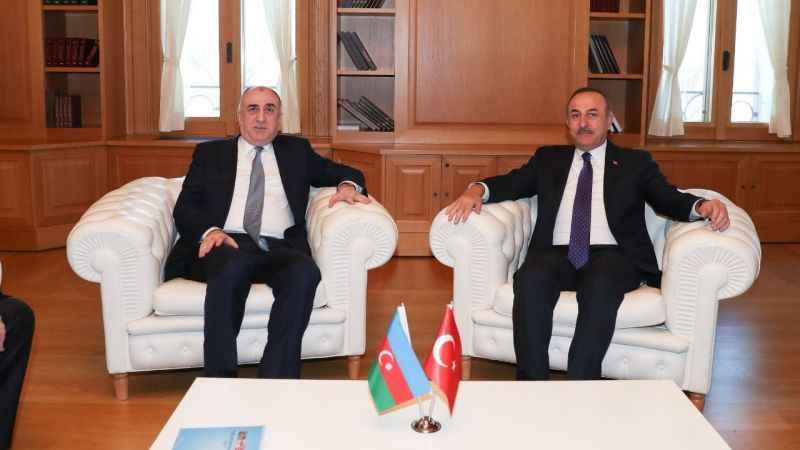 Mevlüt Çavuşoğlu, Azerbaycanlı mevkidaşı ile görüştü