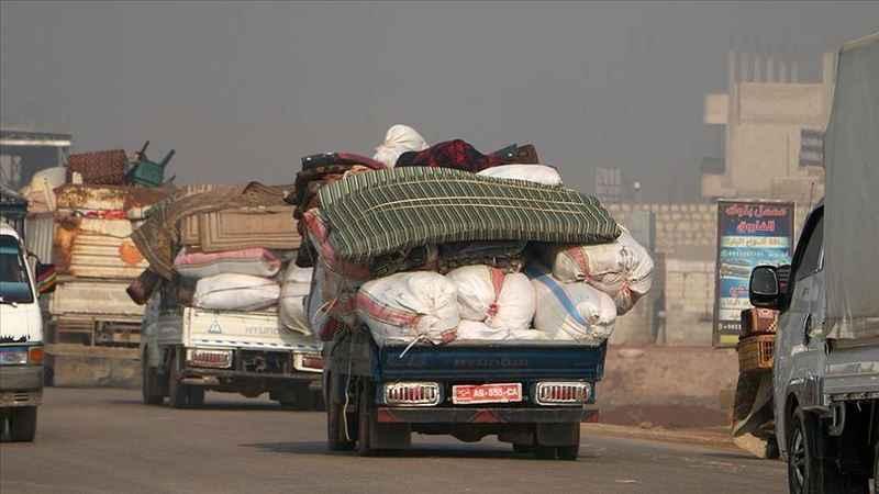 10 bin sivil daha göç etmek zorunda kaldı