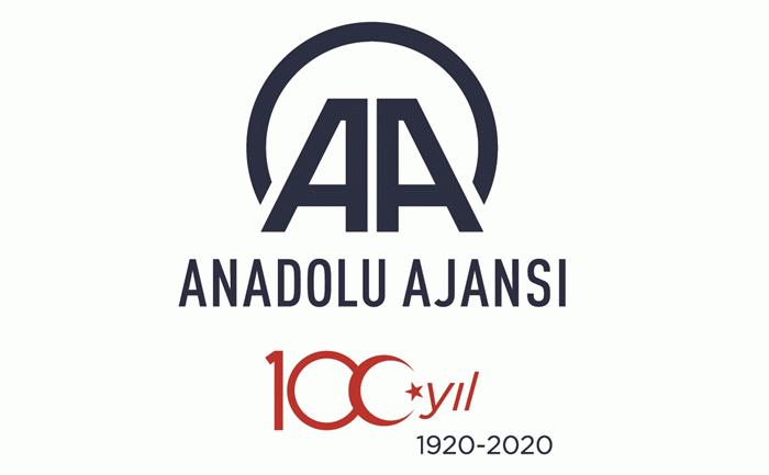 Anadolu Ajansı 100. yılına özel logo tasarladı