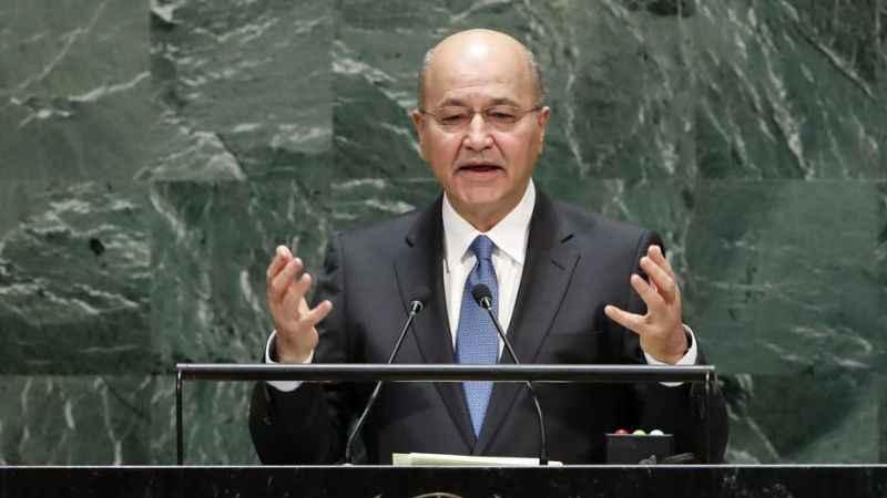 Irak Cumhurbaşkanı Berhem Salih istifa etti